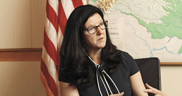 Kimberly Breier respalda a los sectores y partidos políticos que responden al llamado de Guaidó