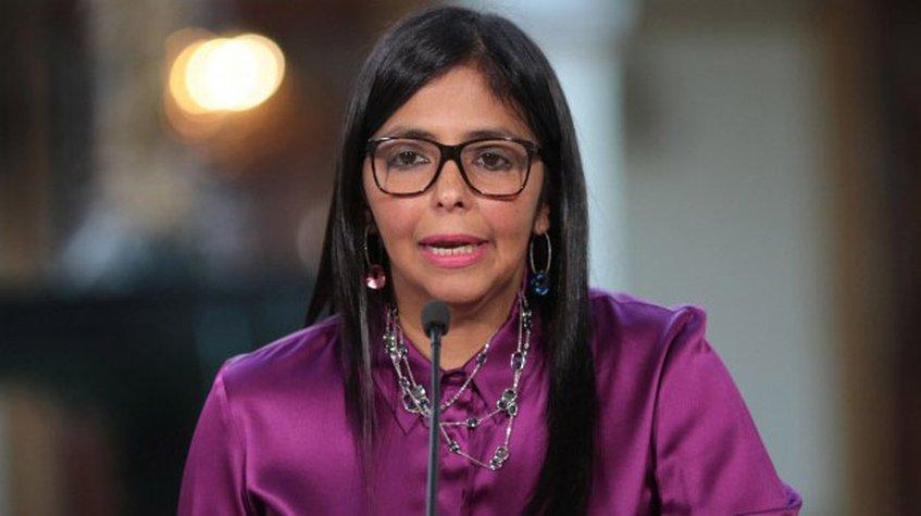 """Delcy Rodríguez: """"Venezuela rechaza categóricamente intervencionismo de Mike Pence"""""""