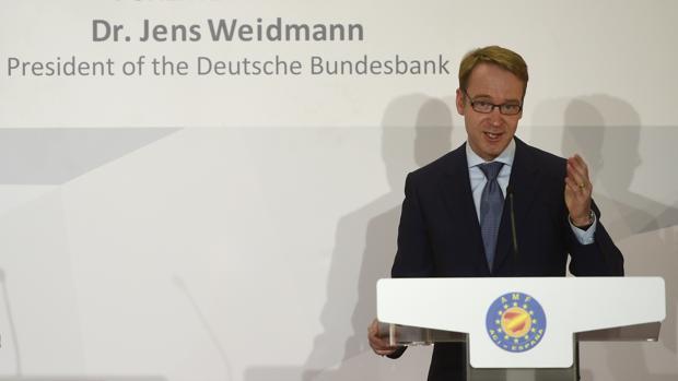 El presidente del Bundesbank, Jens Weidmann, avala la posibilidad de nuevos estímulos para la Eurozona
