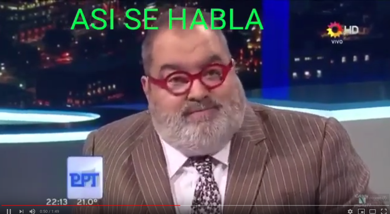 (VIDEOS )Cristina Kirchner será juzgada como la mierda que es: Jorge Lanata..