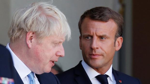 Macron avisa a Johnson de que el acuerdo del Brexit no se renegocia