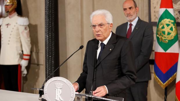 Mattarella reconoce que la crisis política italiana va para largo