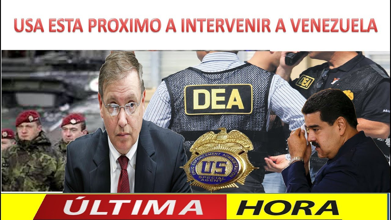 USA ESTA PROXIMO A INTERVENIR A VENEZUELA ENTERATE PORQUE – YouTube
