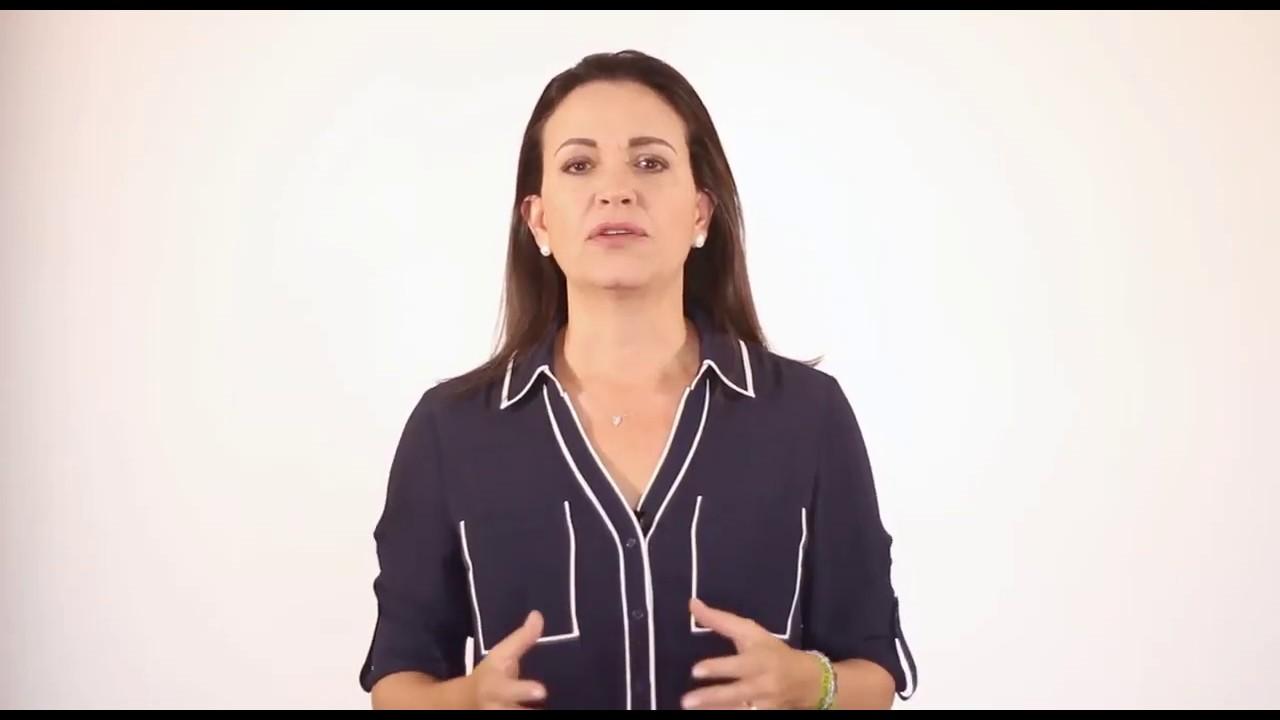SE ARRECHO MARÍA CORINA MACHADO – YouTube