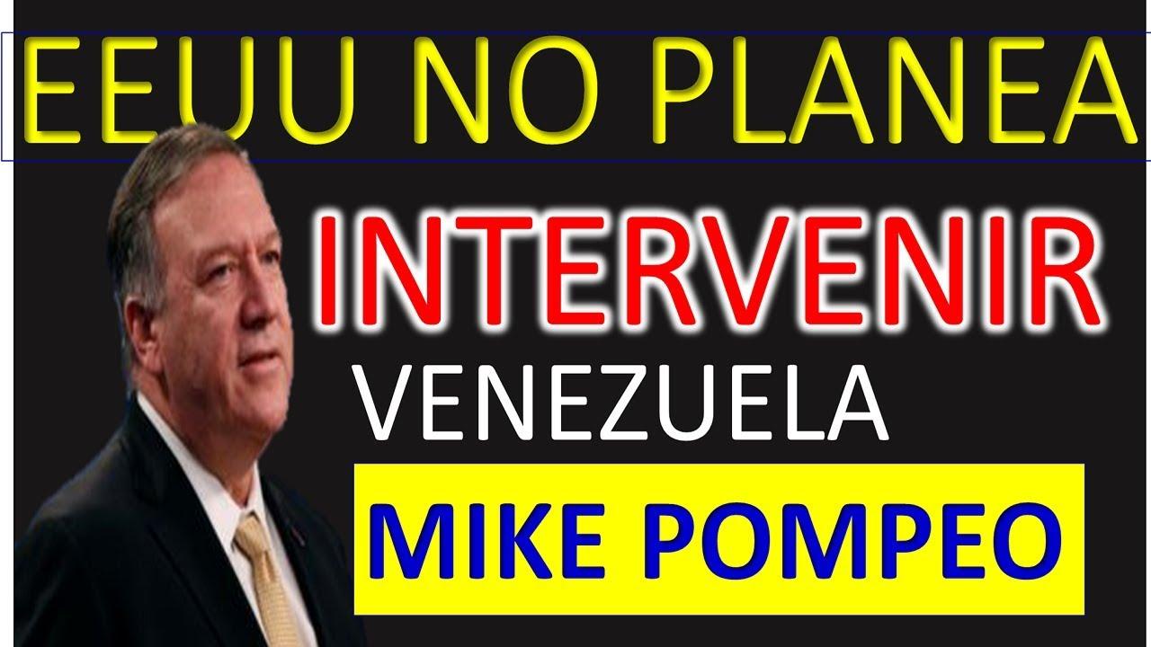 MIKE POMPEO ENVIÓ MENSAJE A TODOS. CON NORBEY MARIN. – YouTube