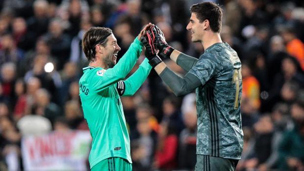 Courtois: «No tenemos temor para ir al Camp Nou»