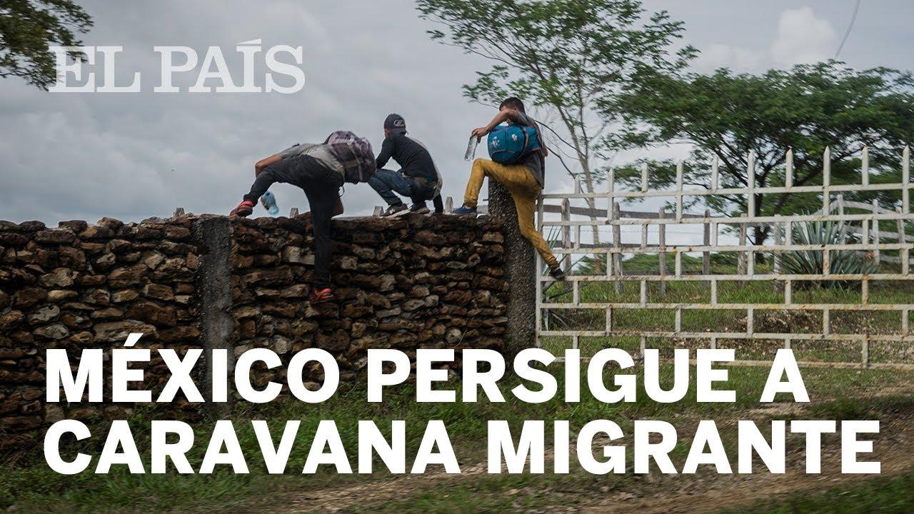 MEXICO CARAVANA | México se blinda ante la llegada de la CARAVANA migrante en la frontera con GUA… – YouTube