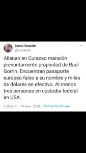 ¡EXTRAOFICIAL! Allanan en Curazao propiedad de empresario venezolano