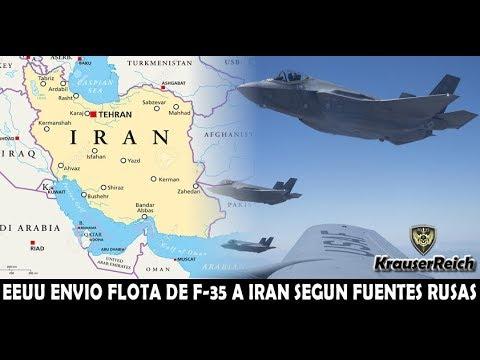 Fuerza Aérea de EEUU envió Flota de Aviones Furtivos F-35 a la Frontera Persa segun informó RUSIA – YouTube